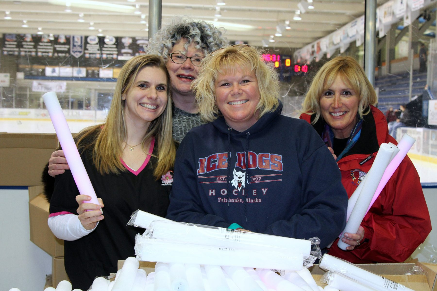 Fairbanks Ice dogs Hockey Team to Stick it to Cancer