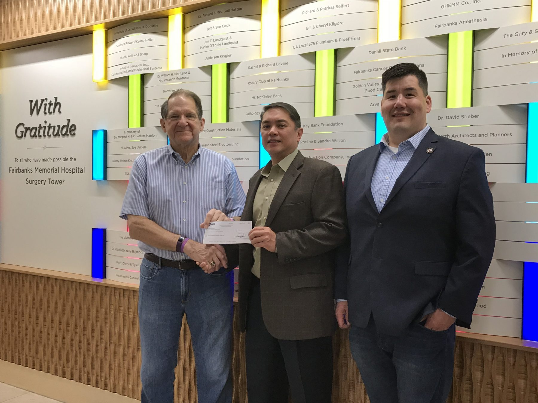Keiwit Donation to Surgery